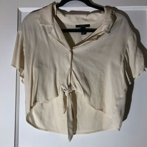 Champagne colored shirt